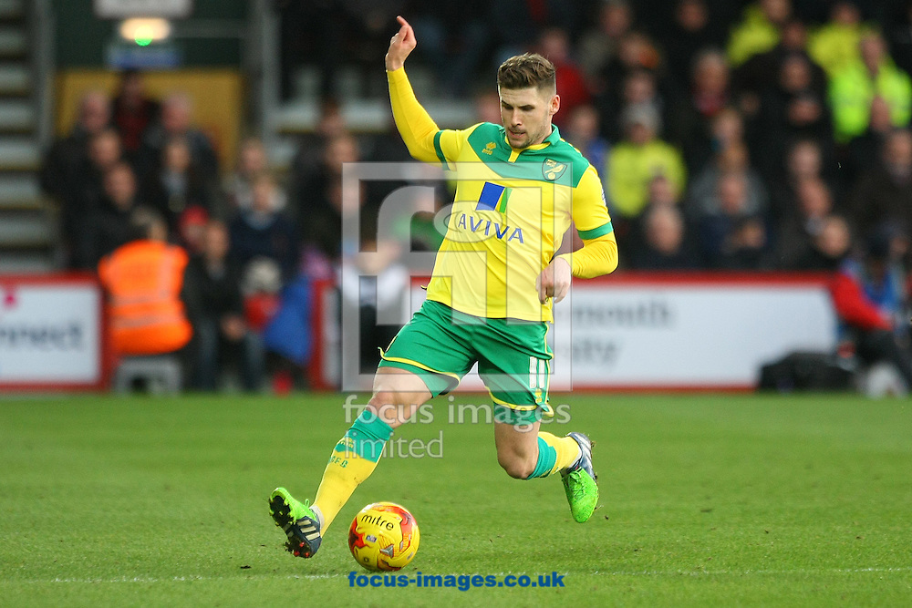 Gary Hooper of Norwich in action during the match at the Goldsands Stadium, Bournemouth<br /> Picture by Paul Chesterton/Focus Images Ltd +44 7904 640267<br /> 10/01/2015