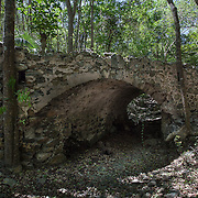 Fredriksdal Ruin, Old Danish Road & Bridge, St John, USVI