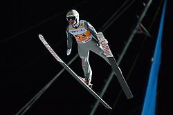 21.11.2014, Vogtland Arena, Klingenthal, GER, FIS Weltcup Ski Sprung, Klingenthal, Herren, HS 140, Qualifikation, im Bild Marinus Kraus (GER) // during the mens HS 140 qualification of FIS Ski jumping World Cup at the Vogtland Arena in Klingenthal, Germany on 2014/11/21. EXPA Pictures © 2014, PhotoCredit: EXPA/ Eibner-Pressefoto/ Harzer<br /> <br /> *****ATTENTION - OUT of GER*****