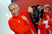 © Ferrari / LaPresse / Filippo Alfero<br /> Fiorano (MO), 28/04/2008<br /> motori<br /> Corso Pilota Avanzato