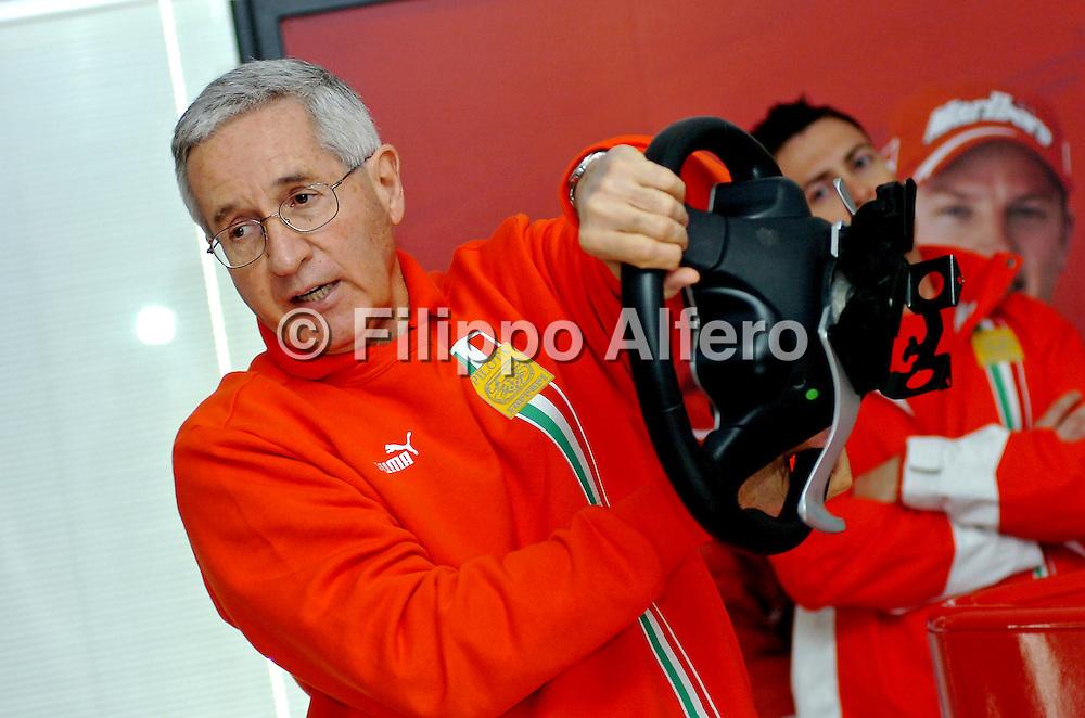 &copy; Ferrari / LaPresse / Filippo Alfero<br /> Fiorano (MO), 28/04/2008<br /> motori<br /> Corso Pilota Avanzato