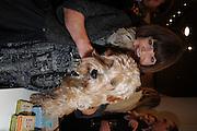 HENRIETTA GREEN; GEORGE LUCAS GREEN, Jonathan Adler Store opening. Sloane St. London. 16 November 2011. <br /> <br />  , -DO NOT ARCHIVE-© Copyright Photograph by Dafydd Jones. 248 Clapham Rd. London SW9 0PZ. Tel 0207 820 0771. www.dafjones.com.