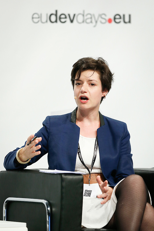 20160615 - Brussels , Belgium - 2016 June 15th - European Development Days - Towards a circular economy for sustainable consumption and production - Chlo&eacute; CHAMBRE-SIMEHA, Head of EU Public Affairs<br /> SUEZ &copy; European Union