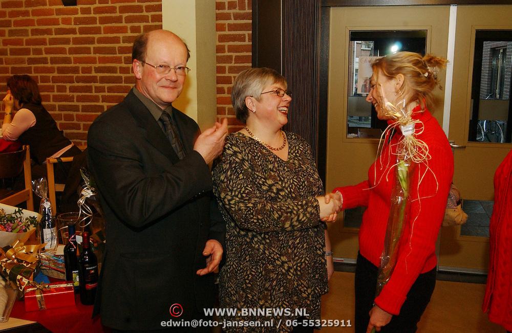 Afscheid kosters de meentkerk Huizen Eef van der Poel en Jannie Brands