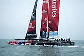 AC72 first sail