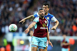 Jonathan Walters of Burnley in action - Mandatory by-line: Matt McNulty/JMP - 23/08/2017 - FOOTBALL - Ewood Park - Blackburn, England - Blackburn Rovers v Burnley - Carabao Cup - Second Round