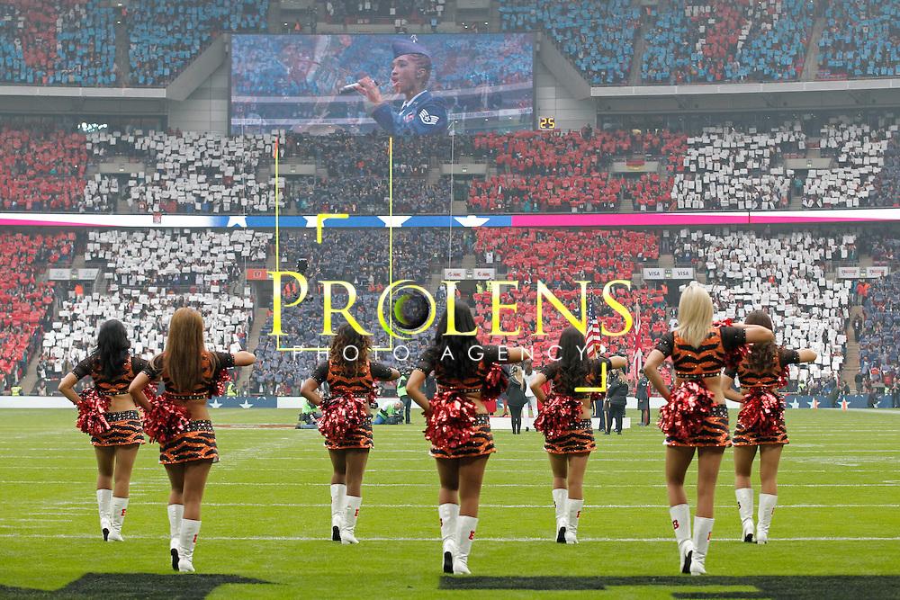 NFL International Series 2016 Washington Redskins @ Cincinnati Bengals 30th OCT 2016<br /> <br /> A general view  during game 17 of the NFL International Series between the  Washington Redskins and Cincinnati Bengals, From Wembley Stadium, London.<br /> <br /> Pic Micthell Gunn / PLPA? ProLens Photo Agency.<br /> Sunday 30 October 2016