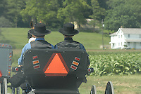 Lifestyle images of daily life of Amish families in Lancaster PA