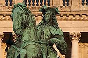 Neue Hofburg, Prinz-Eugen-Denkmal, Heldenplatz,  Wien, Österreich.|.Prinz Eugen memorial, Hofburg, Vienna, Austria