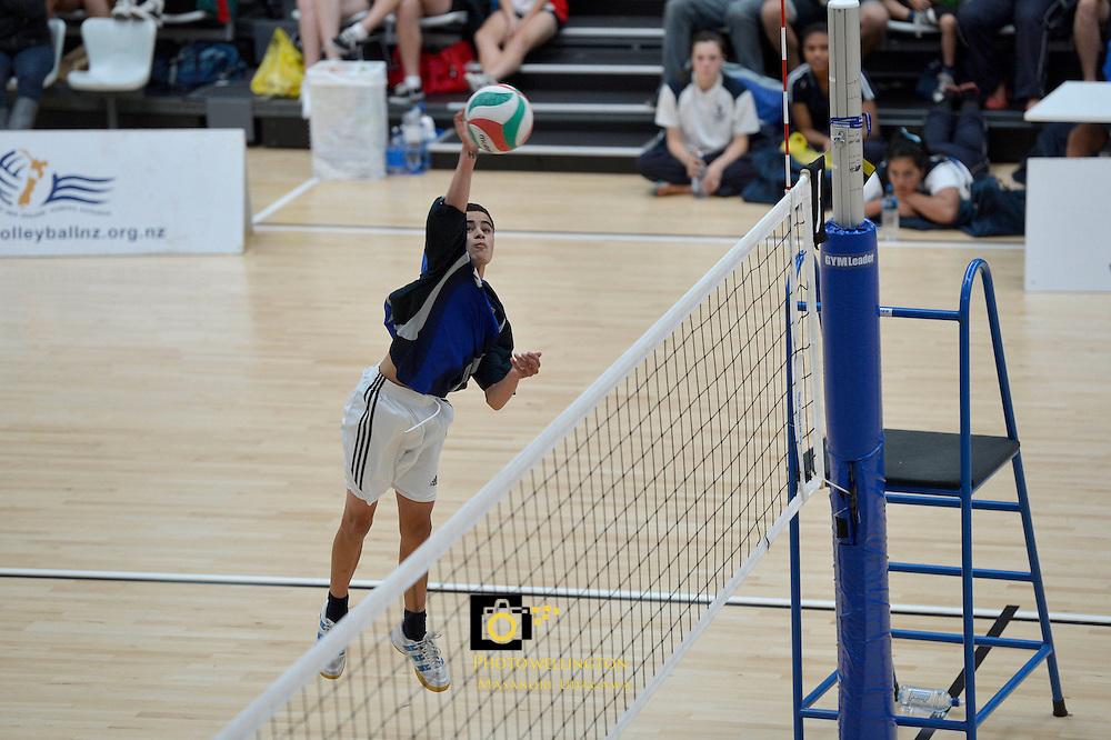 North Island Volleyball Junior Championships at ASB Sports Center Wellington, New Zealand on Friday 30th November 2012<br /> Photo by Masanori Udagawa / www.photowellington.com