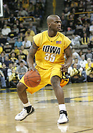 24 JANUARY 2007: Iowa guard Mike Henderson (35) in Iowa's 79-63 win over Penn State at Carver-Hawkeye Arena in Iowa City, Iowa on January 24, 2007.