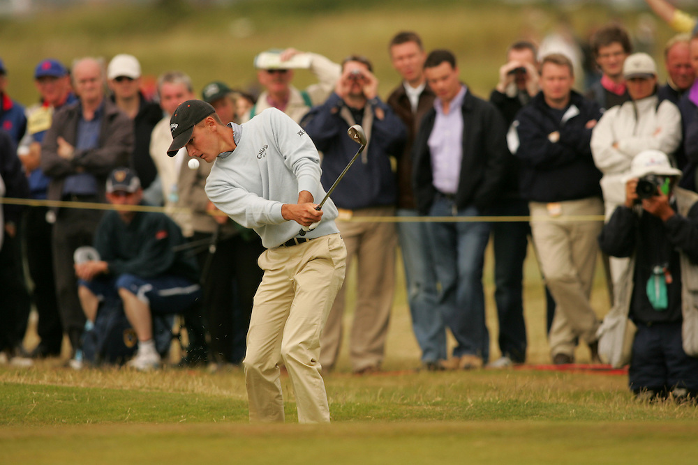 Charles Howell III..2004 Open Championship.( British Open ).Royal Troon GC.Troon, Scotland UK.Second Round.Friday, July 16 2004..photograph by Darren Carroll