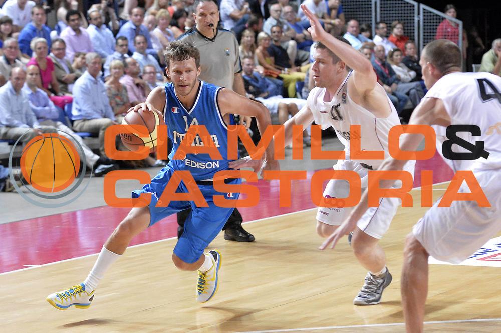 DESCRIZIONE : Anversa European Basketball Tour Antwerp 2013 Belgio Italia Belgium Italy<br /> GIOCATORE : Diener Travis <br /> CATEGORIA : palleggio<br /> SQUADRA : Nazionale Italia Maschile Uomini<br /> EVENTO : European Basketball Tour Antwerp 2013 <br /> GARA : Belgio Italia Belgium Italy<br /> DATA : 17/08/2013<br /> SPORT : Pallacanestro<br /> AUTORE : Agenzia Ciamillo-Castoria/GiulioCiamillo<br /> Galleria : FIP Nazionali 2013<br /> Fotonotizia : Anversa European Basketball Tour Antwerp 2013 Belgio Italia Belgium Italy<br /> Predefinita :