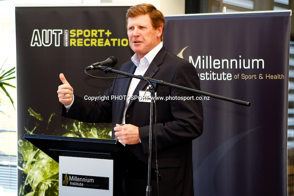Millennium Institute of health and sport Recognition of Excellence awards, Milennium Institute, Albany, Auckland. 9 December 2009. Photo: William Booth/PHOTOSPORT