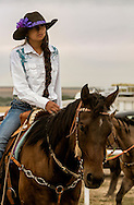Barrel Racer, Rocky Boy Rodeo, Rocky Boy Indian Reservation, Montana, Loren Four Colors, Chippewa Cree