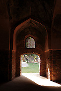 India, Delhi, Emperor Humayun's Tomb, 16th century Mughal tomb listed as World Heritage by UNESCO