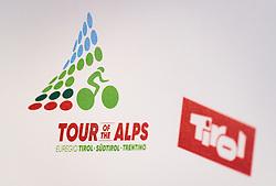 17.02.2017, Tirol Berg, Hochfilzen, AUT, Vorstellung Tour of the Alps, Pressekonferenz, im Bild Tour of Alps und das Tirol Logo // during Presentation of the Tour of the Alps Cylcling Race at the Tirol Berg, Hochfilzen, Austria on 2017/02/17. EXPA Pictures © 2017, PhotoCredit: EXPA/ JFK
