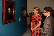©www.agencepeps.be/ F.Andrieu- France - Lille - 130913 - La Reine Mathilde en visite au Louvres Lens