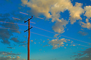 Outback powerlines..<br /> <br /> For larger JPEGs and TIFF Contact EFFECTIVE WORKING IMAGE via our contact page at : www.photography4business.com
