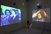 """56th Art Biennale in Venice - All The World's Futures.<br /> Giardini.<br /> International pavilion.<br /> Alexander Kluge, """"Nachrichten aus der ideologischen Antike, Marx, Eisenstein - das Kapital"""", 2008-2015"""
