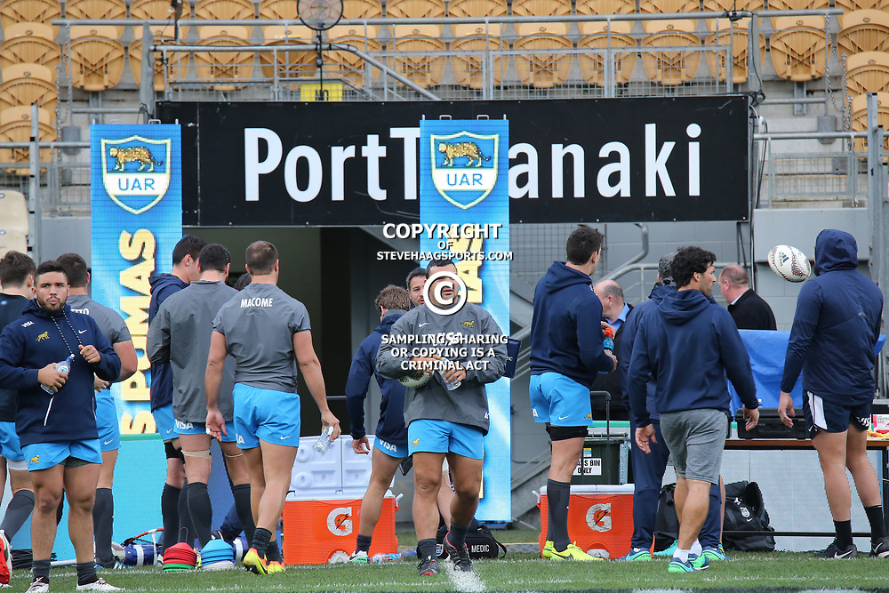 Argentina captain's run, before the Rugby Championship match against the NZ All Blacks, at Yarrow Stadium in New Plymouth, New Zealand on Friday, 8 September 2017. Photo: Rob Tucker / lintottphoto.co.nz