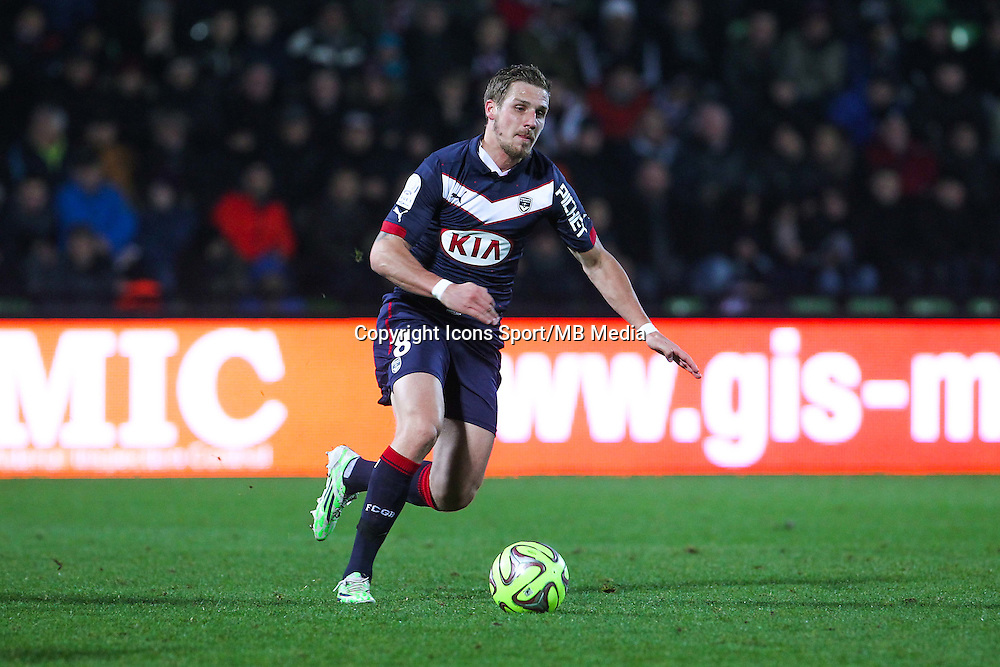 Gregory SERTIC - 03.12.2014 - Metz / Bordeaux - 16eme journee de Ligue 1 -<br />