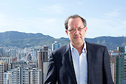 Belo Horizonte_MG, Brasil.<br /> <br /> Vitorio Duque Semionato, vice-presidente de engenharia da construtora Mendes Junior.<br /> <br /> Vitorio Duque Semionato, vice president of engineering construction company Mendes Junior.<br /> <br /> Foto: MARCUS DESIMONI / NITRO