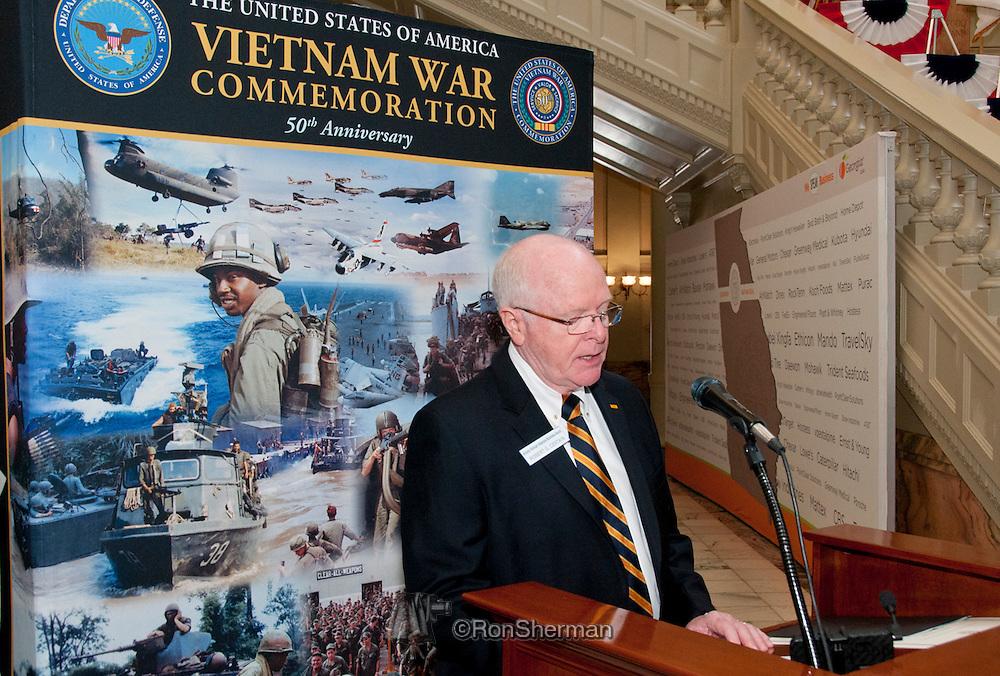 Vietnam Veterans Day in Georgia - A tribute to Georgia Vietnam Medal of Honor Recipients, Atlanta, Georgia - Rev Dr Robert Certain Chairman AVVBA Board of Directors