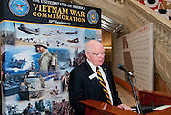 Vietnam Veterans Day in Georgia - A tribute to Georgia Vietnam Medal of Honor Recipients, Atlanta, Georgia - Rev Dr Robert Certain Chairman AVVBA Board of Directors