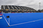 General stadium view before the Vitality Hockey Women's World Cup 2018 Pool A match between Korea and China at the Lee Valley Hockey and Tennis Centre, QE Olympic Park, United Kingdom on 29 July 2018. Picture by Martin Cole.
