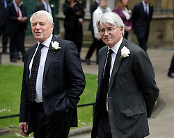 © Licensed to London News Pictures. 20/06/2016. London, UK. PADDY ASHDOWN MP and ANDREW MITCHELL MP arrive at St Margaret's Church, Westminster Abbey to take part in a Service of Prayer and Remembrance to commemorate Jo Cox MP, who was killed in her constituency on June 16, 2016. Photo credit: Peter Macdiarmid/LNP