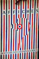 An example of graphic art from the Paris flea market