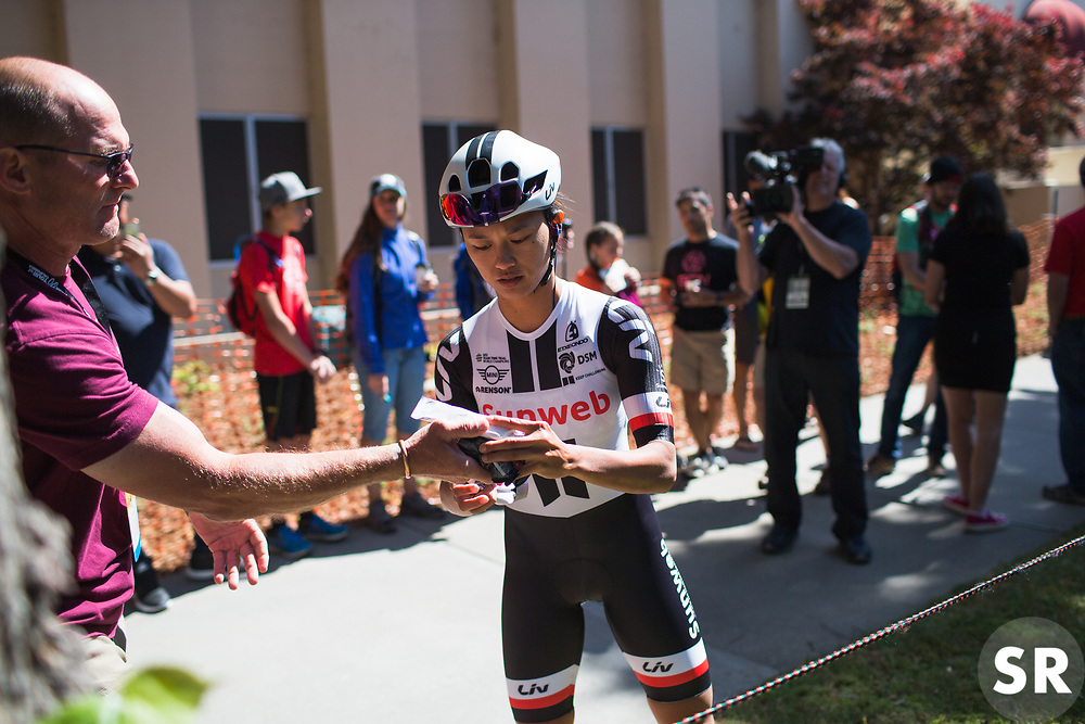\corryv of Team Sunweb prepares for Stage 3 of the Amgen Tour of California - a 70 km road race, starting and finishing in Sacramento on May 19, 2018, in California, United States. (Photo by Balint Hamvas/Velofocus.com)