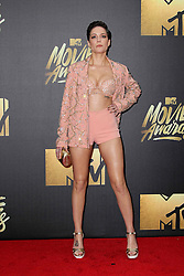 Halsey, at the 2016 MTV Movie Awards, Warner Bros. Studios, Burbank, CA 04-09-16. EXPA Pictures © 2016, PhotoCredit: EXPA/ Photoshot/ Martin Sloan<br /> <br /> *****ATTENTION - for AUT, SLO, CRO, SRB, BIH, MAZ, SUI only*****