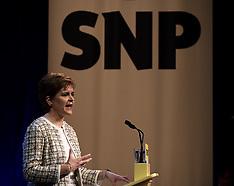 Nicola Sturgeon launches SNP manfisto, Glasgow, 27 November 2019