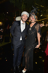 ARIZONA MUSE and BONIFACE VERNEY-CARRON at The Animal Ball presented by Elephant Family held at Victoria House, Bloomsbury Square, London on 22nd November 2016.