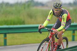 September 15, 2017 - Chenghu City, United States - Rafael Andriato from Wilier Triestina Selle Italy team during the fourth stage of the 2017 Tour of China 1, the 3.3 km Chenghu Jintang individual time trial. .On Friday, 15 September 2017, in Jintang County, Chenghu City,  Sichuan Province, China. (Credit Image: © Artur Widak/NurPhoto via ZUMA Press)