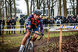 Sophie de Boer, NK Veldrijden Elite-Vrouwen en Amateur-Vrouwen / Dutch Championship Cyclocross Elite Women and Amateur Women at Sint Michielsgestel, Noord-Brabant, The Netherlands, 8 January 2017. Photo by Pim Nijland / PelotonPhotos.com | All photos usage must carry mandatory copyright credit (Peloton Photos | Pim Nijland)