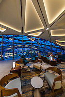 Lobby lounge area, Westin Denver International Airport Hotel, Denver, Colorado USA.