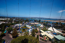Aerial view of Sea World, San Diego, California, United States of America