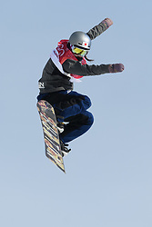 February 19, 2018 - Pyeongchang, SOUTH KOREA - 180219 Miyabi Onitzuka of Japan competes in the Women's Big Air Qualification during day ten of the 2018 Winter Olympics on February 19, 2018 in Pyeongchang..Photo: Carl Sandin / BILDBYRÃ…N / kod CS / 57999_306 (Credit Image: © Carl Sandin/Bildbyran via ZUMA Press)