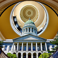 Maine State Capitol Composite in Augusta, Maine<br />