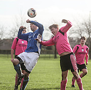 Central Baptists (blue) v DK Raiders - Dundee Saturday Morning Football League<br /> <br />  - &copy; David Young - www.davidyoungphoto.co.uk - email: davidyoungphoto@gmail.com