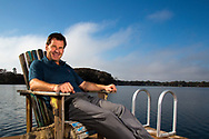 Nick Faldo 2016 at home<br /> feature portrait<br /> Picture Credit:  Mark Newcombe / www.visionsingolf.com