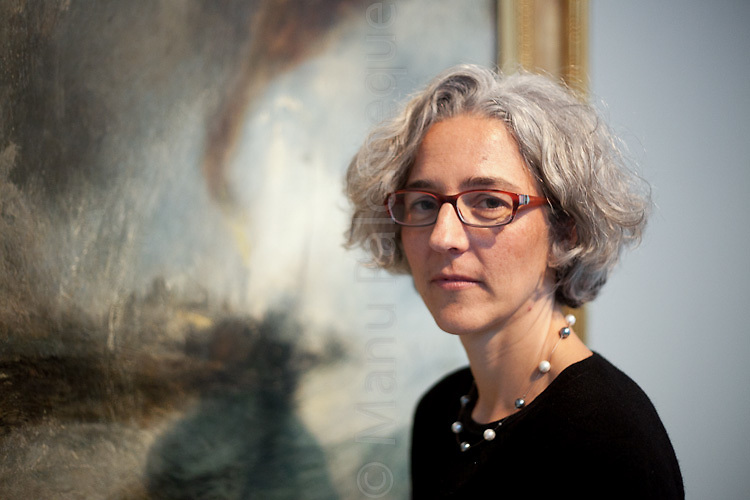 "© London News Pictures. 27/01/2012. Margate, Kent. Ines Richter-Musso curator of ""Turner and the Elements"" showing at the Turner Contemporary in Margate, Kent. It brings tgether 88 works by Britains best-loved painter JMW Turner. A number of works feature Margate and the north Kent coast based on the artists theme of the elements - Earth, Water, Air, Fire and Fusion. Photo credit should read Manu Paomeque/LNP."