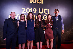 Lotto Soudal Ladies at UCI Cycling Gala 2019 in Guilin, China on October 22, 2019. Photo by Sean Robinson/velofocus.com