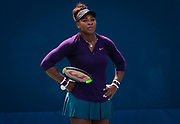 Serena Williams of the United States practices, at the 2018 US Open Grand Slam tennis tournament, New York, USA, August 25th 2018, Photo Rob Prange / SpainProSportsImages / DPPI / ProSportsImages / DPPI