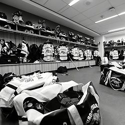 BUFFALO, NY - SEP 20,  2017: Ontario Junior Hockey League Governors Showcase behind the scenes, <br /> (Photo by Andy Corneau / OJHL Images)