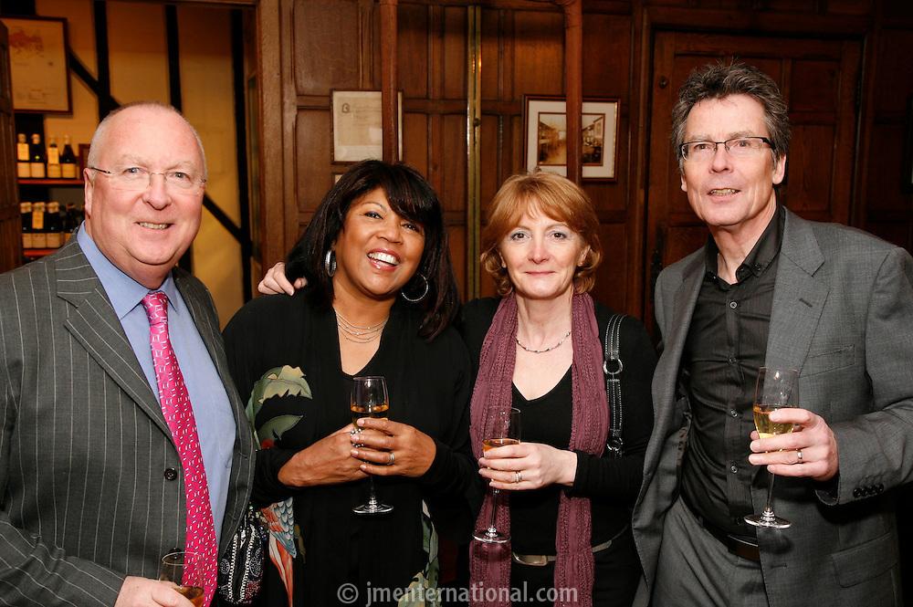 Linda & Neil Warnock and Julia & David Warnock