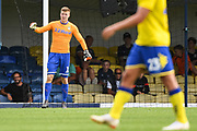Leeds United Goalkeeper Bailey Peacock-Farrell (1) during the Pre-Season Friendly match between Southend United and Leeds United at Roots Hall, Southend, England on 22 July 2018. Picture by Stephen Wright.